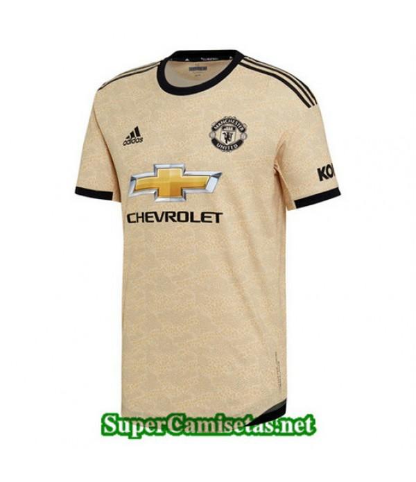 Segunda Equipacion Camiseta Manchester United 2019/20