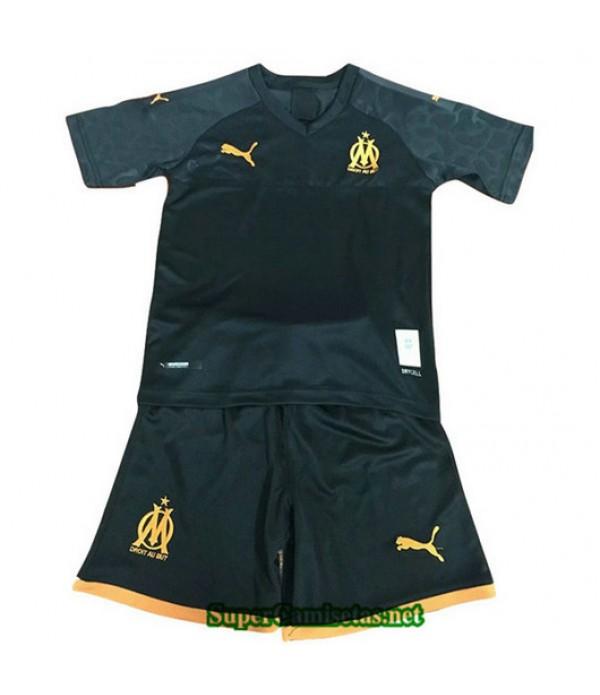 Segunda Equipacion Camiseta Marsella Ninos 2019/20