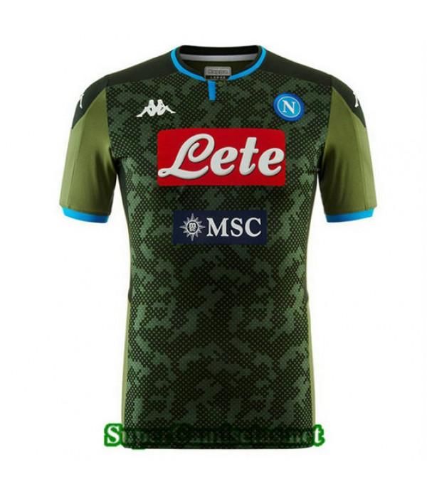Segunda Equipacion Camiseta Napoli 2019/20