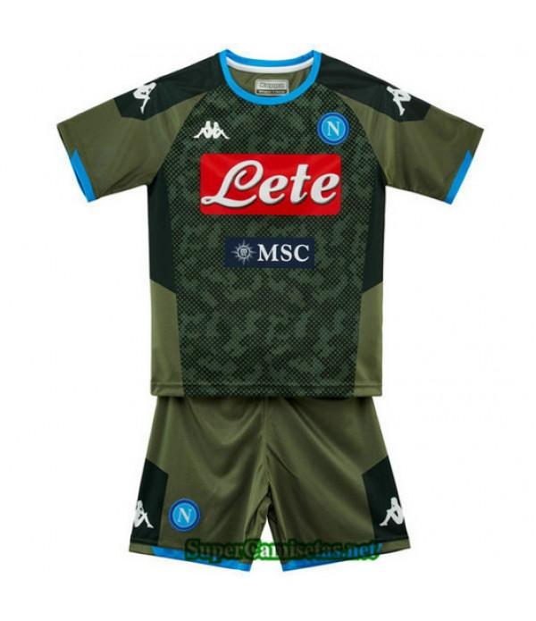 Segunda Equipacion Camiseta Napoli Ninos 2019/20