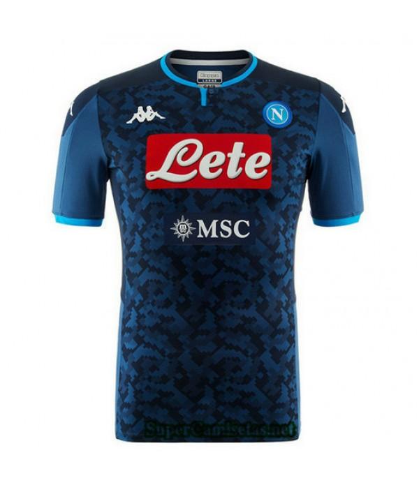 Segunda Equipacion Camiseta Napoli Portero Azul 2019/20