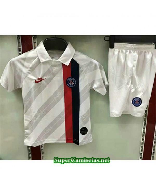 Segunda Equipacion Camiseta PSG Ninos Blanco 2019/20