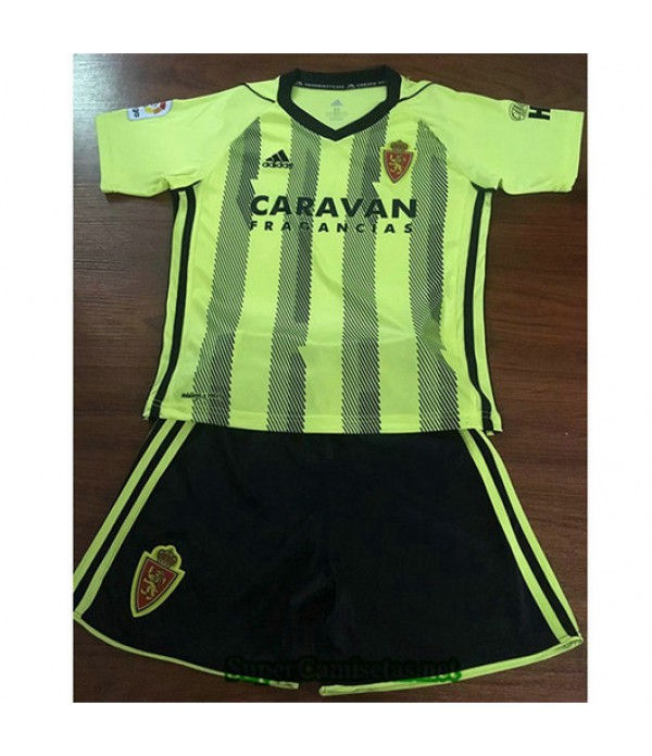 Segunda Equipacion Camiseta Real Zaragoza Ninos 2019/20