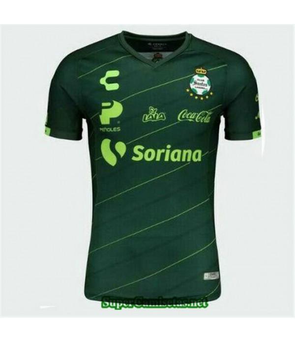 Segunda Equipacion Camiseta Santos Laguna Verde oscuro 2019/20