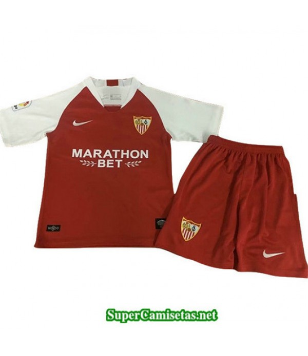 Segunda Equipacion Camiseta Sevilla Ninos 2019/20