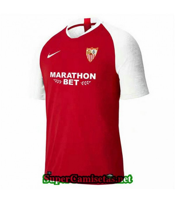 Segunda Equipacion Camiseta Sevilla Rojo 2019/20