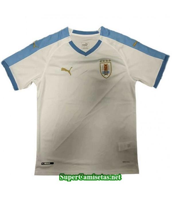 Segunda Equipacion Camiseta Uruguay Blanco 2019/20