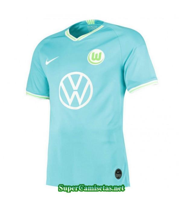 Segunda Equipacion Camiseta Wolfsburg Azul 2019/20