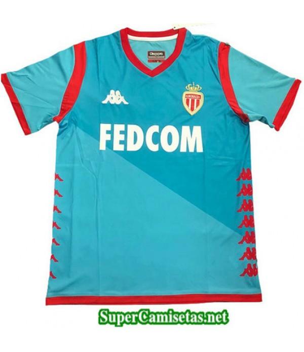 Tercera Equipacion Camiseta AS Monaco Azul 2019/20