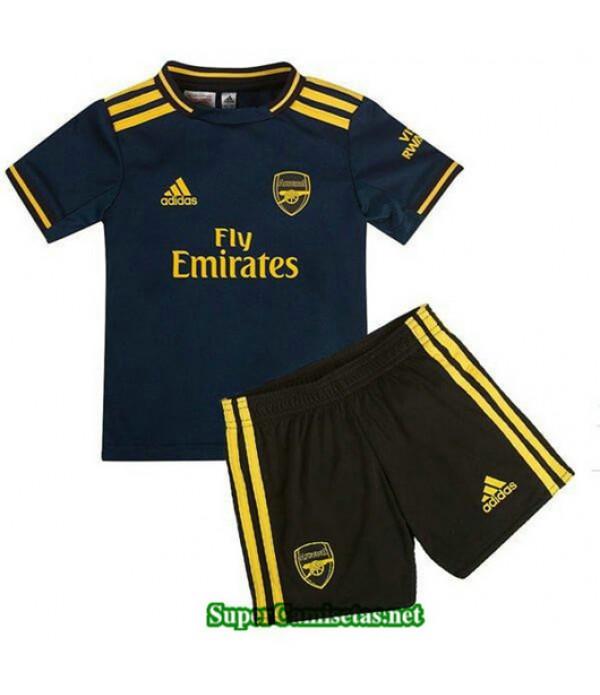 Tercera Equipacion Camiseta Arsenal Ninos 2019/20