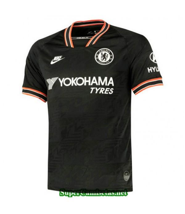 Tercera Equipacion Camiseta Chelsea Negro 2019/20
