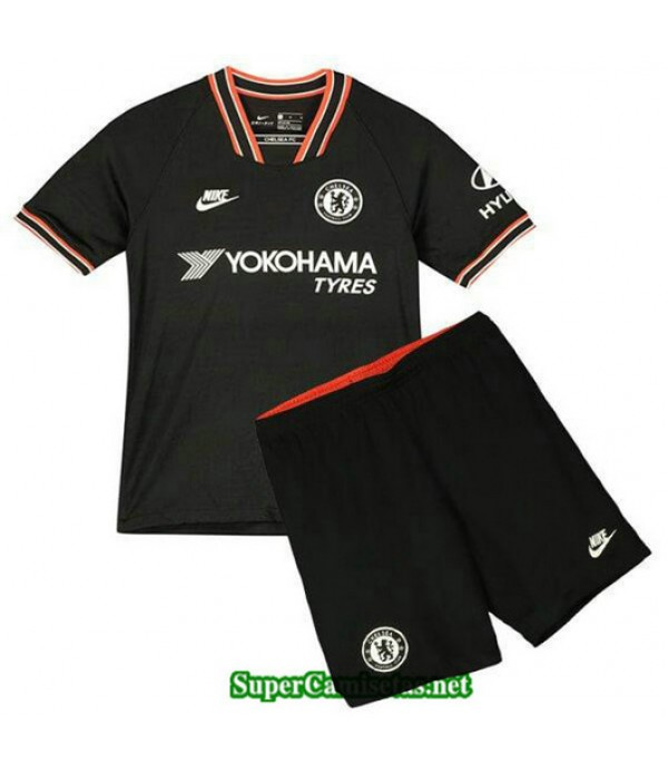 Tercera Equipacion Camiseta Chelsea Ninos 2019/20