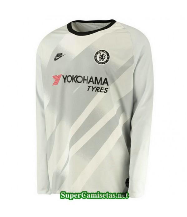 Tercera Equipacion Camiseta Chelsea Portero Manga ...