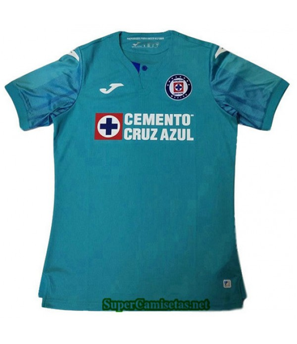 Tercera Equipacion Camiseta Cruz Azul Verde 2019/20
