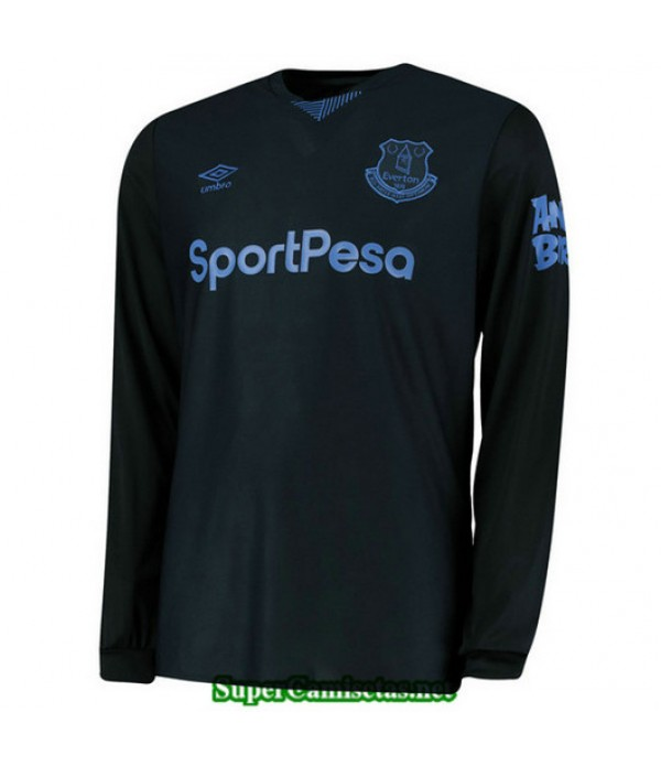 Tercera Equipacion Camiseta Everton Manga Larga 2019/20