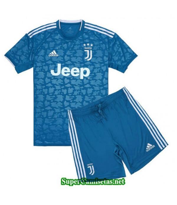 Tercera Equipacion Camiseta Juventus Ninos 2019/20