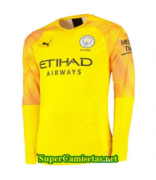 Tercera Equipacion Camiseta Manchester City Portero Manga Larga 2019/20