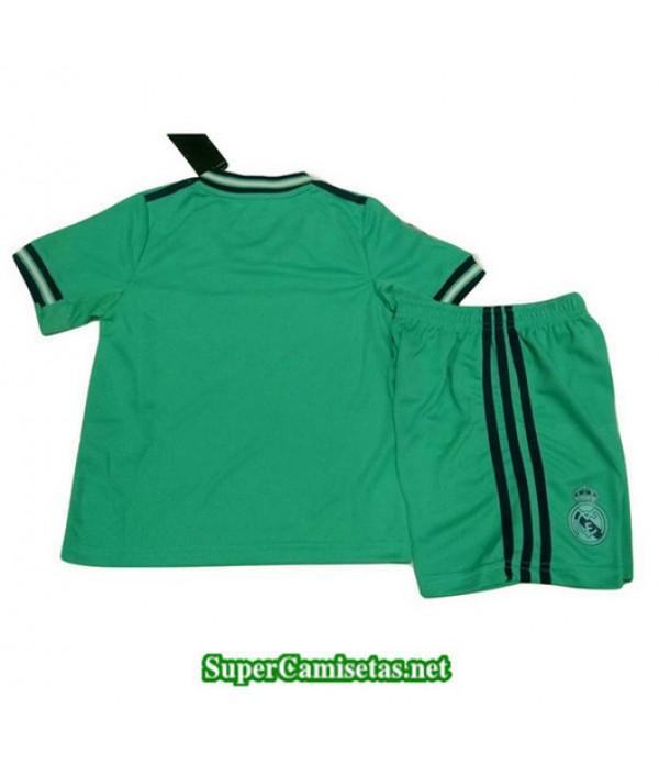 Tercera Equipacion Camiseta Real Madrid Ninos Verde 2019/20