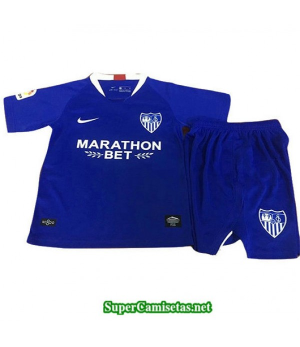 Tercera Equipacion Camiseta Seville Ninos Azul 2019/20