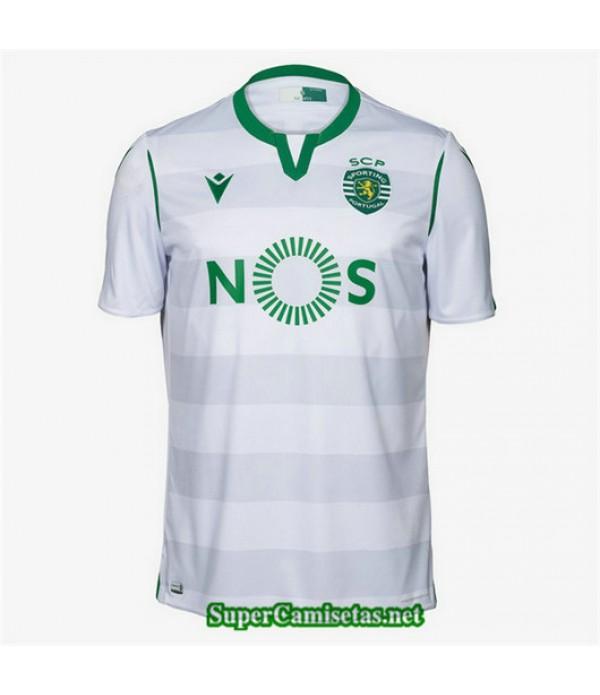 Tercera Equipacion Camiseta Sporting Blanco 2019/20