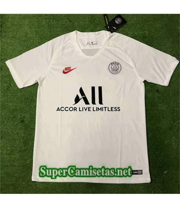 Entrenamiento Equipacion Camiseta PSG All Blanco 2...