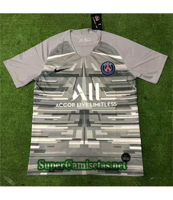 Entrenamiento Equipacion Camiseta PSG Gris 2019/20
