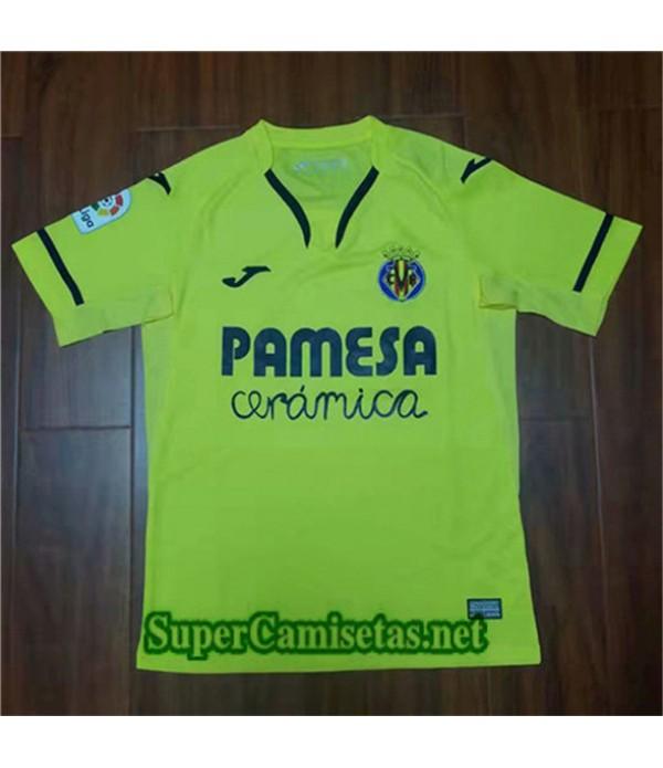 Equipacion Camiseta Villarreal Verde 2019/20