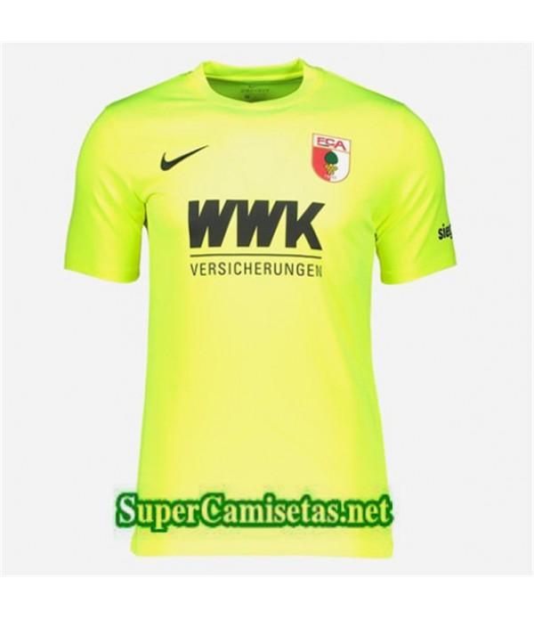 Portero Equipacion Camiseta Augsburg Verde 2019/20