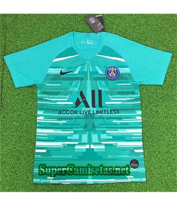 Portero Equipacion Camiseta PSG Verde 2019/20