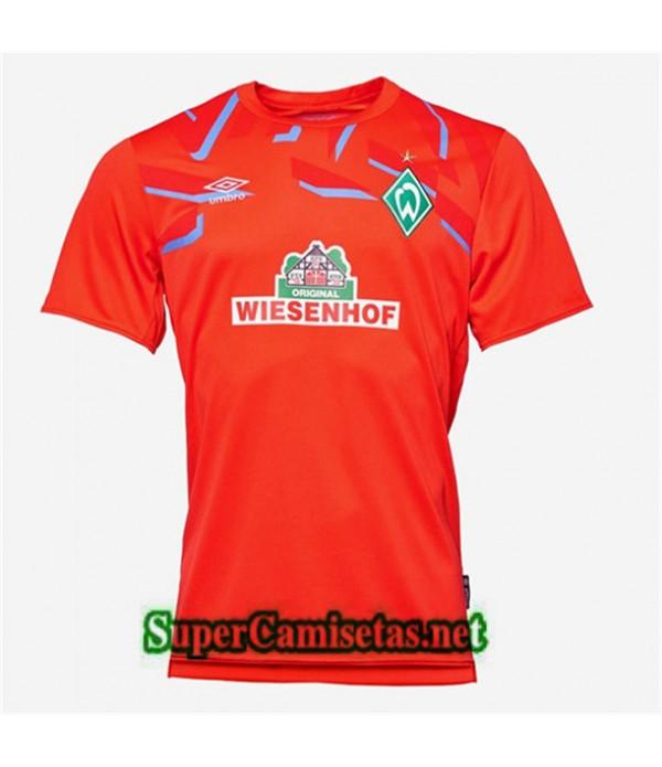 Portero Equipacion Camiseta Werder Bremen Rojo 2019/20