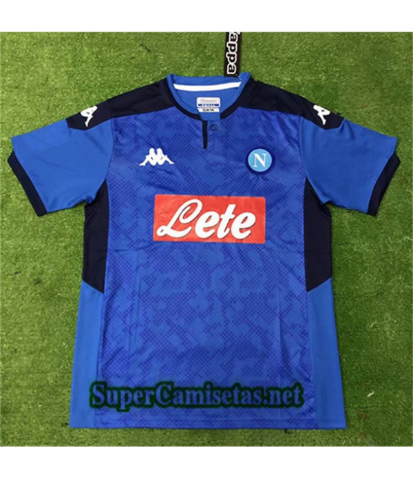 Primera Equipacion Camiseta Napoli Liga de Campeones 2019/20