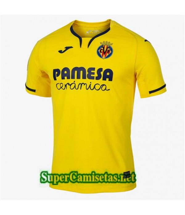 Primera Equipacion Camiseta Villarreal Amarillo 2019/20