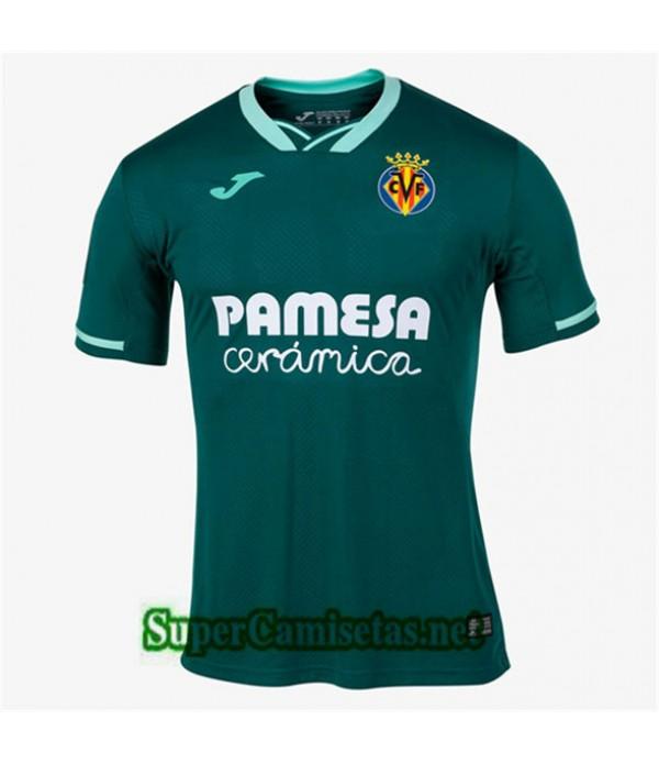 Segunda Equipacion Camiseta Villarreal Verde Oscuro 2019/20