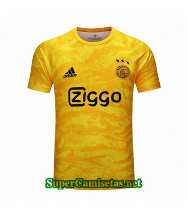 Tailandia Camiseta Portero Ajax Equipacion Amarillo 2019/20