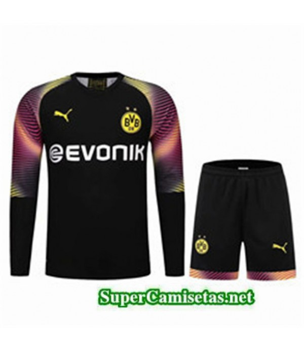 Tailandia Camiseta Portero Borussia Dortmund Equipacion Negro 2019/20