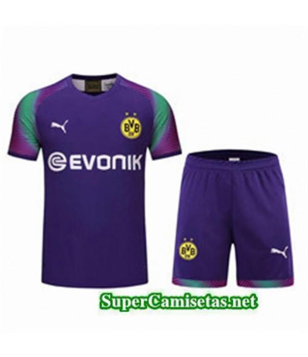 Tailandia Camiseta Portero Borussia Dortmund Equipacion Violet 2019/20
