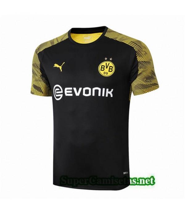 Tailandia Camiseta Pre Match Borussia Dortmund Equipacion Negro 2019/20