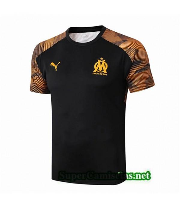 Tailandia Camiseta Pre Match Marsella Equipacion Amarillo/negro 2019/20