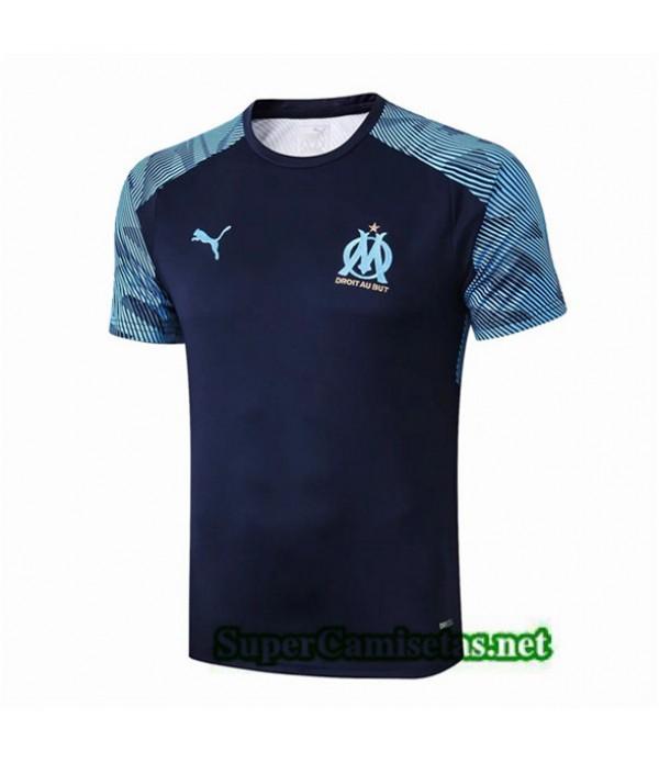 Tailandia Camiseta Pre Match Marsella Equipacion Azul 2019/20