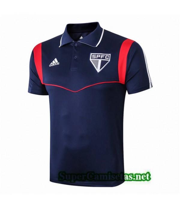 Tailandia Camiseta Pre Match Sao Paulo Equipacion Azul 2019/20