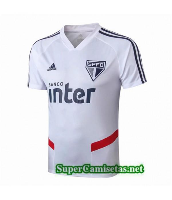 Tailandia Camiseta Pre Match Sao Paulo Equipacion Blanco 2019/20