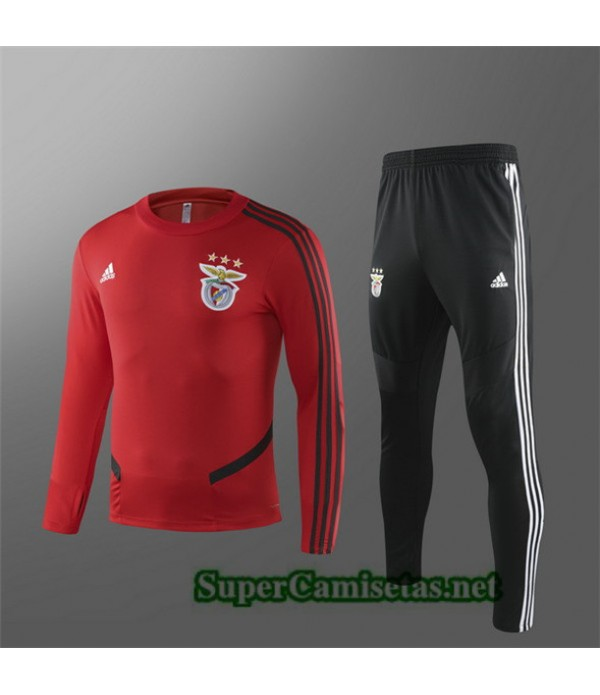 Tailandia Chandal Benfica Niño Equipacion Rojo/negro 2019/20