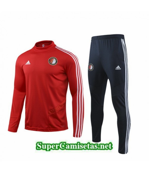 Tailandia Chandal Feyenoord Equipacion Rojo/negro 2019/20