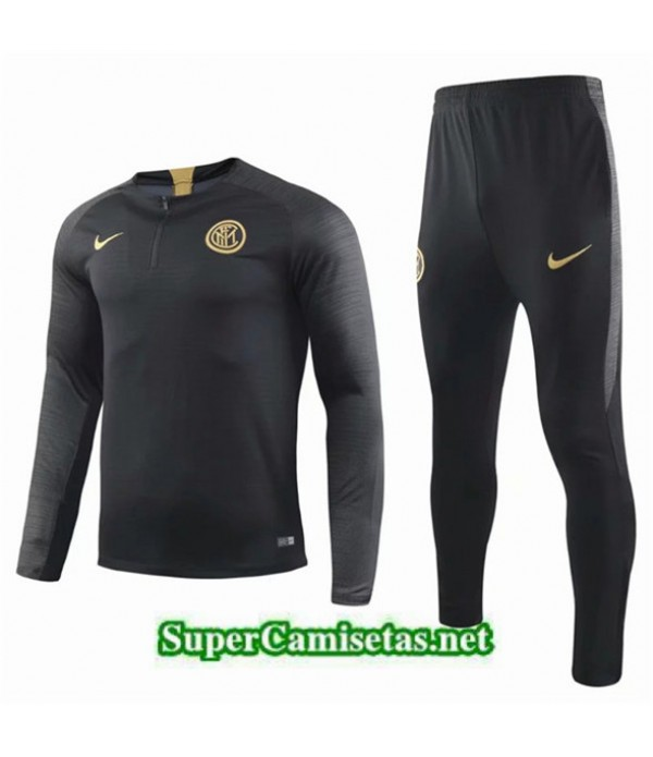 Tailandia Chandal Inter Milan Equipacion Negro 2019/20