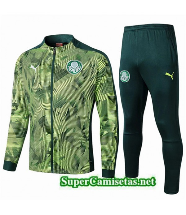 Tailandia Chaqueta De Chandal Palmeiras Equipacion Verde 2019/20