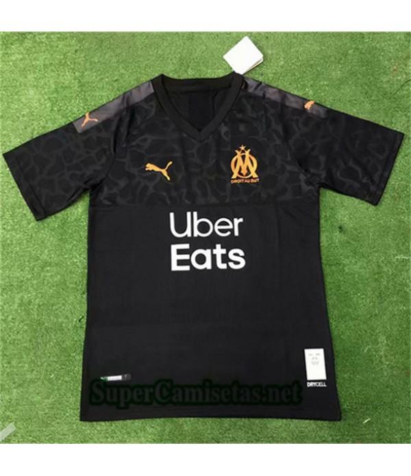 Tercera Equipacion Camiseta Marsella Uber Eats Negro 2019/20
