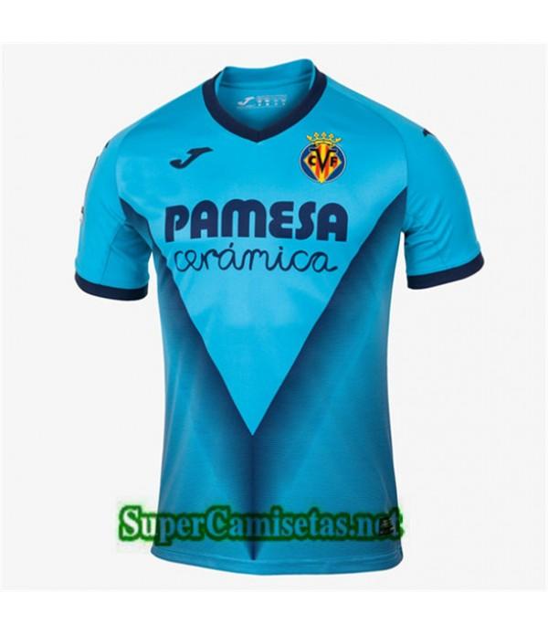 Tercera Equipacion Camiseta Villarreal Azul 2019/20