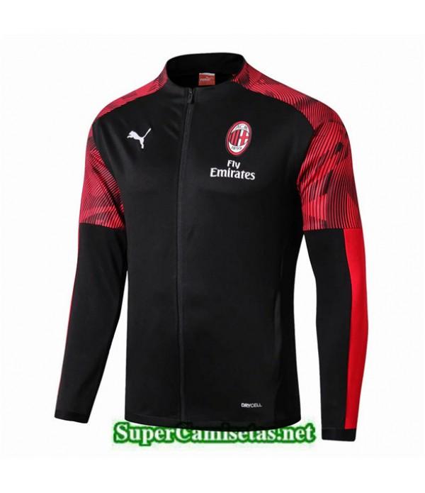 Tailandia Camiseta Ac Milan Chaqueta Negro 2019/20