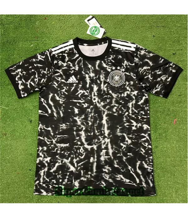 Tailandia Camiseta Alemania Negro 2019/20