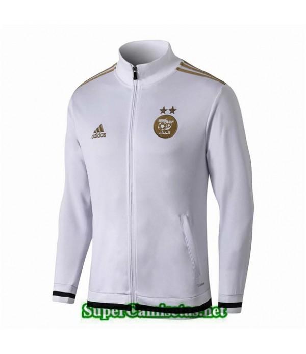 Tailandia Camiseta Argelia Chaqueta Blanco 2019/20